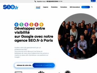 Aperçu du site SEO.fr