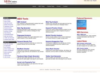 Info: Scheda e opinioni degli utenti : ANALISI METATAG - controllo qualità SEO delle pagine, meta tag e errori