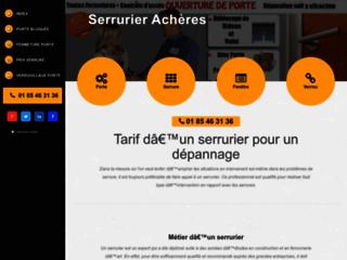 Détails : Serrurier à Achères