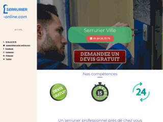 Détails : Serrurier Online, spécialistes des travaux d'installation de rideaux métalliques