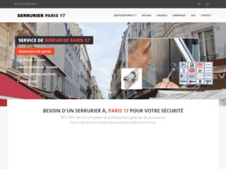 Détails : Artisan serrurier Paris 17