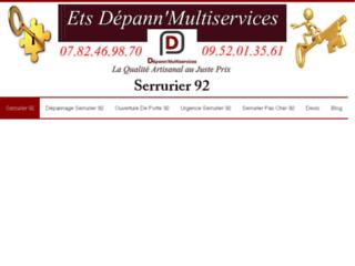 Serrurier 92