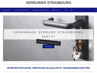 Serrurier Strasbourg