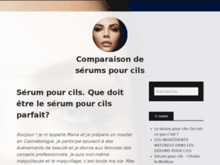 Détails : Serum pour cils