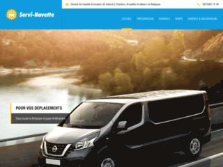 Détails : Service de navettes en Belgique et ailleurs
