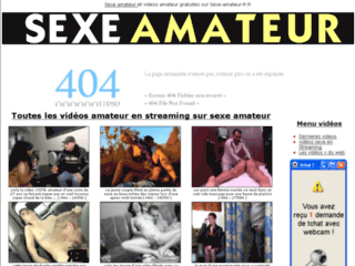 sexe amateur sur internet