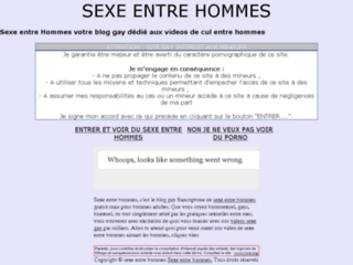 sexe entre hommes