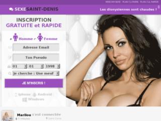 Plan cul gratuit à Saint-Denis