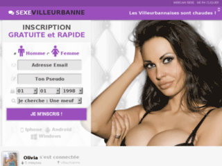 Sexe gratuit à Villeurbanne près de Lyon