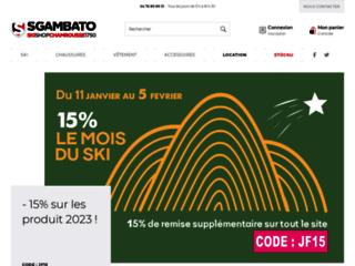 Sgambato-Skishop.fr : du choix, du service et des prix