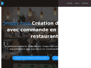 ShopyFood, creation de sites internet avec commande en ligne pour restaurant