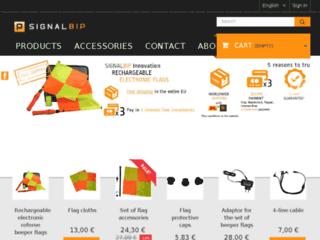 Signal Bip : Drapeau de touche électronique