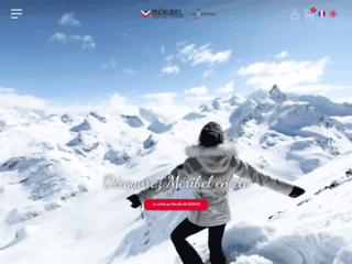 Achat et rechargement de forfaits de ski pour Méribel les 3 Vallées