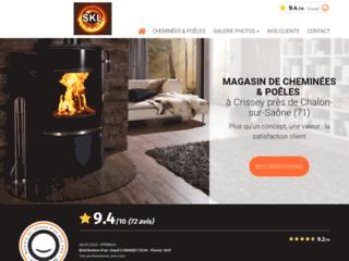 SKL CHEMINÉES - magasin de cheminées et poêles à Crissey