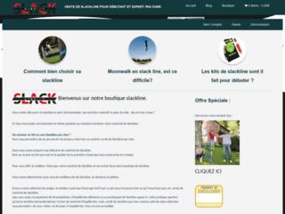 Détails : Boutique en ligne de slackline