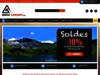 Boutique de vente de vêtements et accessoires ski et snowboard