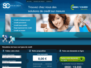 Regroupement de credit