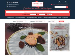 Aperçu du site Sofys & Co