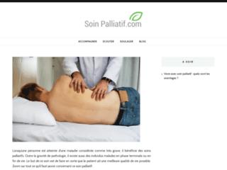 Détails : Les soins palliatifs