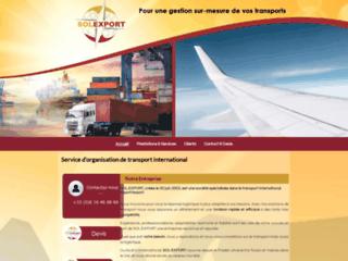 Détails : Sol Export