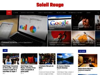 Japon: le soleil rouge