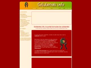 SOLIDARITES INFOS