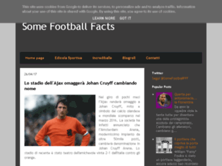 Some Football Facts