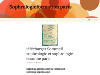 Institut de Sophrologie de Paris sur http://www.sophrologieformation-paris.com