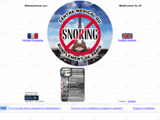 Centre Medical du Ronflement de Paris sur http://www.sos-snoring.com