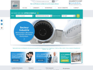 Détails : Space RH, gestion d'intérim à Paris