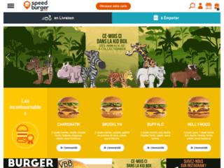 Capture du site http://www.speed-burger.com/