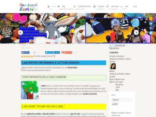 Info: Scheda e opinioni degli utenti : Spettacoli per bambini e Letture Animate Teatrali
