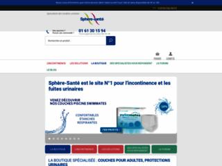 Incontinence : informations et produits Sphère sur http://www.sphere-sante.com
