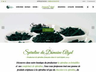 Spiruline artisanale du Gard
