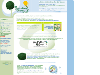 Producteur de spiruline en Provence sur http://www.spirulinedugarlaban.com