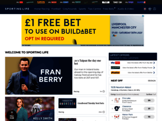 Sporting Life: Horse Racing Tips, News, Results   Live Football Scores   Headlines