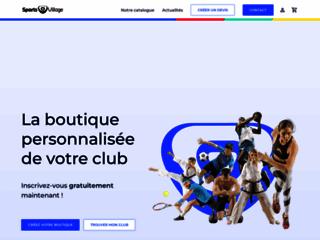 Sports village – Matériel sportif club