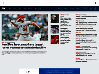 Sports News: World and National Sports Headlines, Score Updates, Highlights, Stats & Results - Sportsnet.ca