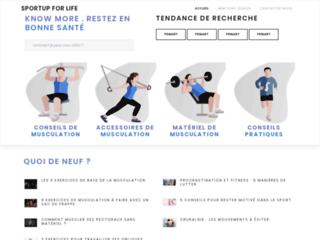 Sport'up for life Entraînement de musculation pour les débutants