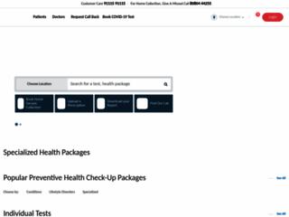 SRL Diagnostics Health Packages