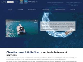 Réparation des bateaux  à Golfe-Juan