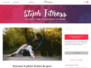 Votre Coach sportif Steph Fitness