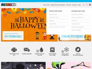 Stickers personnalisés - Stickers et autocollants Stickerkid pour enfants