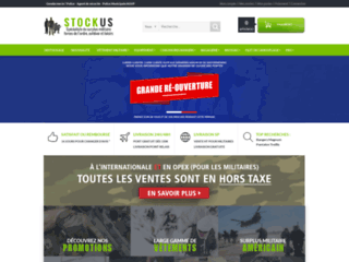 Capture du site http://www.stockus.fr/