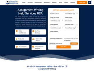 Avail Quality Assignment Helper Malaysia