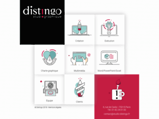 DISTINGO, studio graphique
