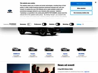 Subaru Italia: news, modelli, servizi, storia, competizioni e rete di vendita.