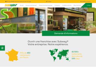 Détails : Subway® : Un exceptionnel réseau de franchise en France