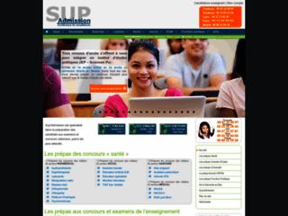 SUP'ADMISSION :se préparer aux examens et concours