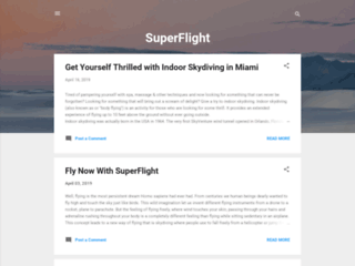 Let Your Flying Dream Comes True with SuperFlight